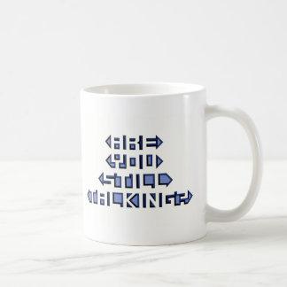 まだ話していますか。 コーヒーマグカップ