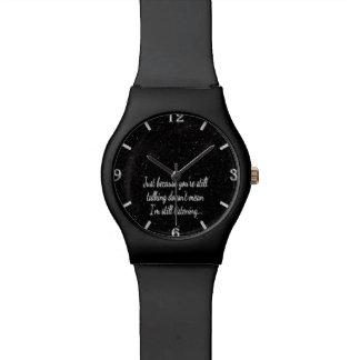 まだ話すきらきら光るな|のおもしろいのユーモアの引用文のおもしろいな冗談 腕時計