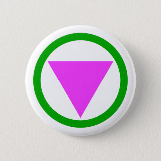 まっすぐな同盟国の記号ボタン 5.7CM 丸型バッジ