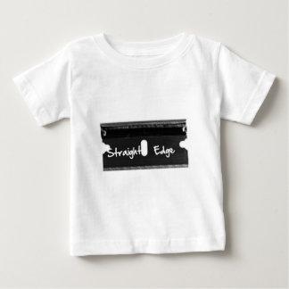 まっすぐな端かみそり ベビーTシャツ