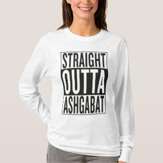 まっすぐなouttaアシガバート tシャツ