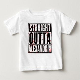 まっすぐなOUTTAアレキサンドリア ベビーTシャツ