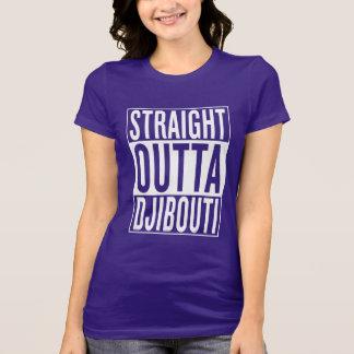 まっすぐなouttaジブチ tシャツ
