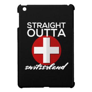 まっすぐなOUTTAスイス連邦共和国 iPad MINI カバー