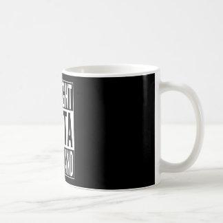 まっすぐなouttaスワジランド コーヒーマグカップ