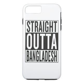 まっすぐなouttaバングラデシュ iPhone 8 plus/7 plusケース