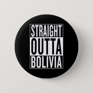 まっすぐなouttaボリビア 5.7cm 丸型バッジ