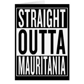 まっすぐなouttaモーリタニア カード
