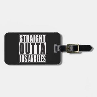 まっすぐなOuttaロサンゼルス ラゲッジタグ