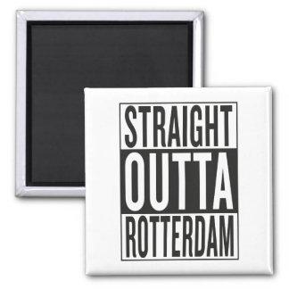 まっすぐなouttaロッテルダム マグネット