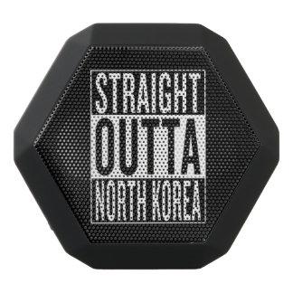 まっすぐなoutta北朝鮮 ブラックBluetoothスピーカー