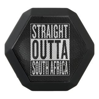 まっすぐなoutta南アフリカ共和国 ブラックBluetoothスピーカー