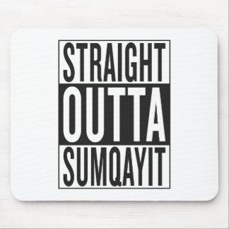 まっすぐなoutta Sumqayit マウスパッド