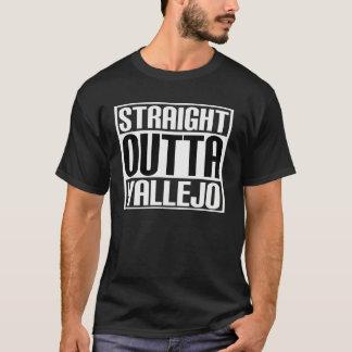 まっすぐなOutta Vallejo Tシャツ