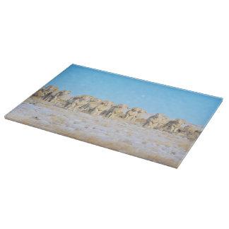 まな板のガラス西部のヒツジ カッティングボード