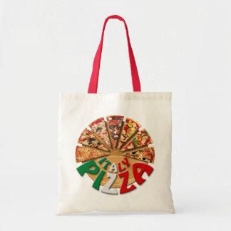 まな板のバッグのイタリアピザ トートバッグ