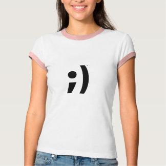 まばたき Tシャツ
