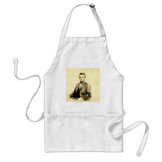まれなエイブラハム・リンカーンSTEREOVIEW大統領のヴィンテージ スタンダードエプロン