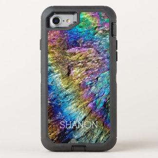 まれなミネラル石のiPhone 6のオッターボックス オッターボックスディフェンダーiPhone 7 ケース