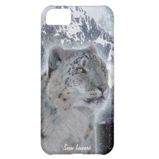まれなユキヒョウの大きな猫の野性生物のiPhone 5の場合 iPhone5Cケース