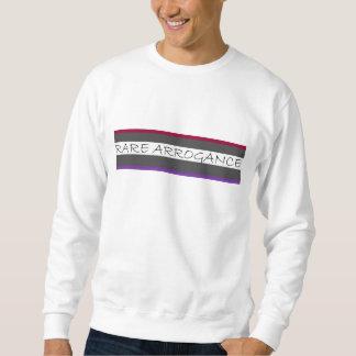 まれな横柄のあずき色および紫色 スウェットシャツ