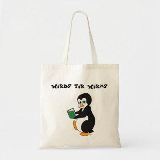 みみずのブックバッグのための単語 トートバッグ
