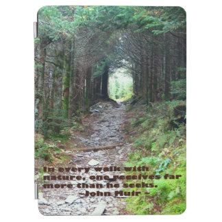 みょうばんの洞窟の道: あらゆる歩行w/nature… ジョンMuir iPad Air カバー