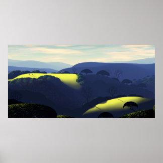 みょうばんの石の丘 ポスター