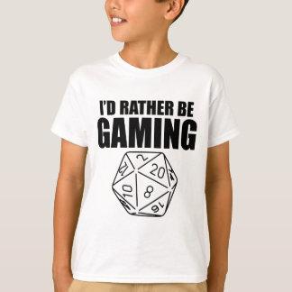 むしろあって下さい賭博(D20)が Tシャツ