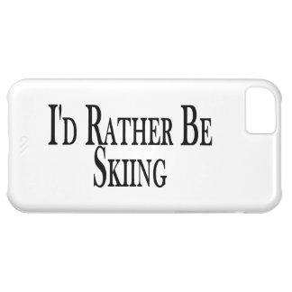 むしろスキーをしています iPhone5Cケース