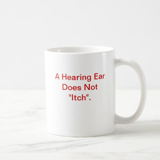 むずむずさせる耳のマグ コーヒーマグカップ