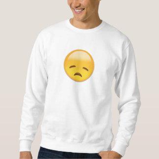 むなしい顔Emoji スウェットシャツ