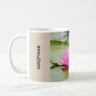 めい想して下さい コーヒーマグカップ