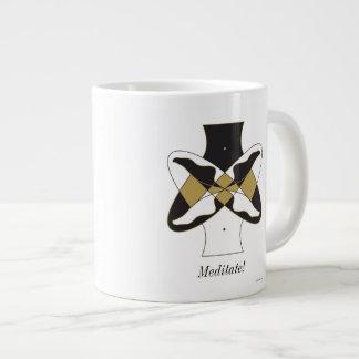 めい想して下さい ジャンボコーヒーマグカップ
