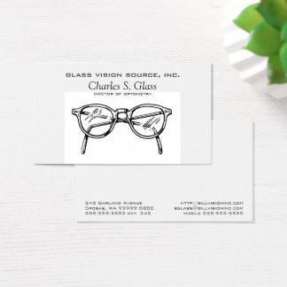めがねのEyewearの光学視野 名刺