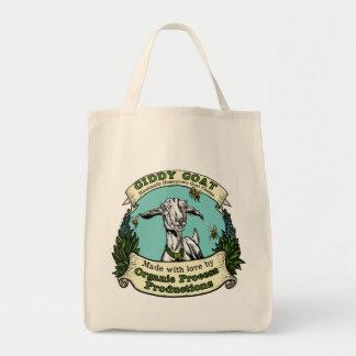 めまいがするヤギのトートバック トートバッグ