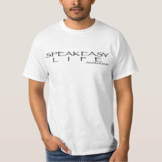もぐり酒場の生命ティー Tシャツ