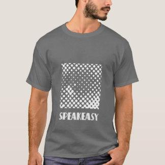 もぐり酒場クラブロゴのロンドンのもぐり酒場クラブ Tシャツ