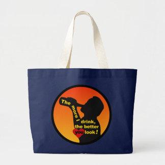 もっと私はバッグを飲みます-選んで下さいスタイル及び色を ラージトートバッグ