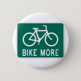 もっと自転車に乗って下さい 5.7CM 丸型バッジ