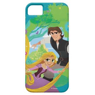 もつれさせた| Rapunzel及びEugene iPhone SE/5/5s ケース