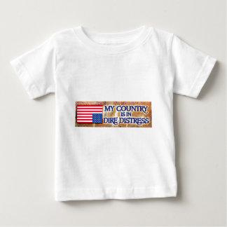 ものすごい苦脳 ベビーTシャツ