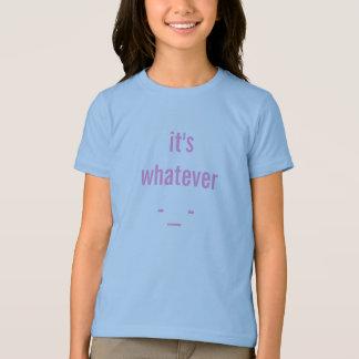 """""""ものは何でも十代の若者たちのお気に入りのな単語"""" Tシャツ"""