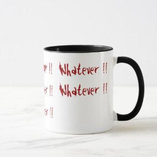 ものは何でも!! 、ものは何でも!! 、ものは何でも!! 、…ものは何でも マグカップ
