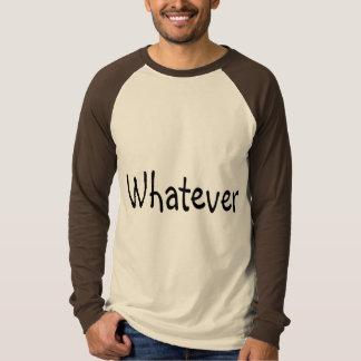 ものは何でも Tシャツ