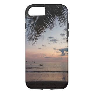やしおよびビーチのiPhone 7の堅い場合 iPhone 8/7ケース