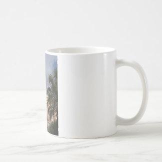 やしを搭載する進水 コーヒーマグカップ