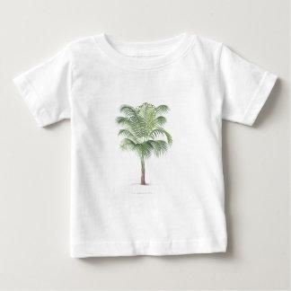やしイラストレーションシリーズ-プレート1 ベビーTシャツ