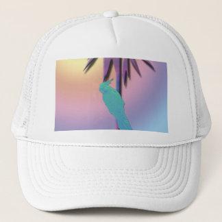 やしデジタル熱帯芸術のCockatiel キャップ