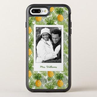 やし及びパイナップルは|あなたの写真を加えましたり及び示します オッターボックスシンメトリーiPhone 8 PLUS/7 PLUSケース